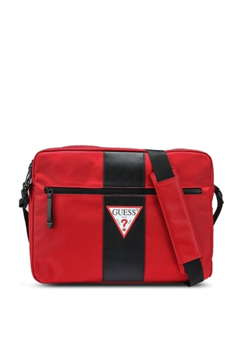 Guess red Central Messenger Bag 3A024AC04BF44FGS_1