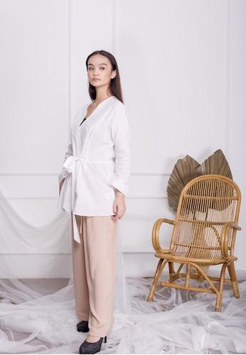 Simplify white Freya Kimono Top White A5011AA7DCC147GS_1