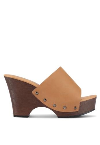 Bata brown Bally Heels 19F38SH5246975GS_1