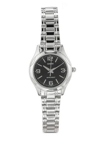 LTP-1275D-1ADF 不銹鋼圓錶, zalora 評價錶類, 飾品配件