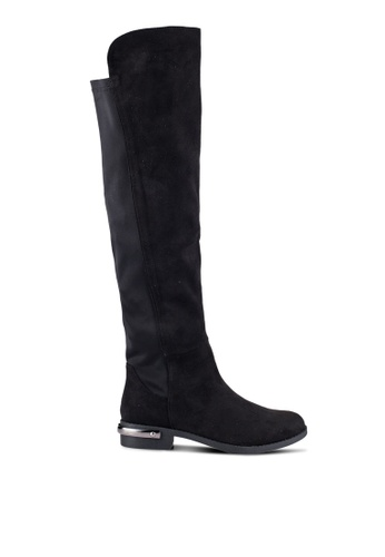 ZALORA black High Boots with Metal Heel Detail 746B0ZZF15586DGS_1
