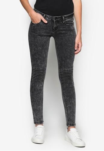 Acid Black Skinny Jeans, 服飾, Tomboesprit門市地址y Chic