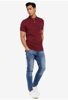912844470 Abercrombie & Fitch Pop Core Polo Shirt S$ 88.00. Sizes XS S M L XL