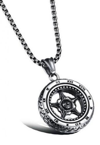 Trendyshop silver Men's Necklace TR116AC2VI2ZHK_1