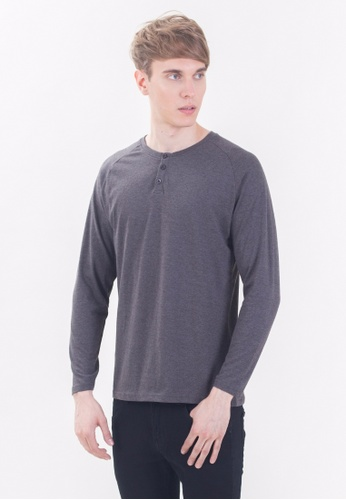 Drum Long Sleeve Tee Shirt - HGY DR425AA90RINMY_1