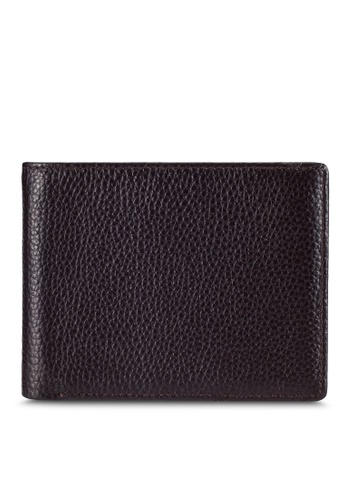 UniqTee brown Uniqtee Rfid Blocking Bifold Wallet UN097AC0RFW4MY_1