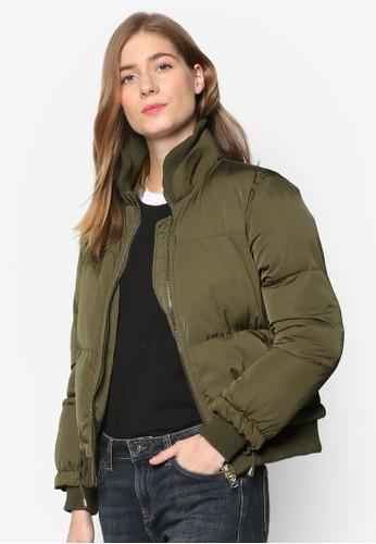 填充esprit hk store物保暖外套, 服飾, 服飾