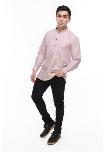 Amar Amran pink Kurta Al Hazim 2.0 581C3AAF67111EGS_1