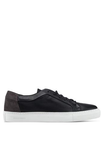 Jack & Jones grey Sputnik Block Sneakers 26FB1SHE660E43GS_1