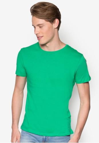 彩色esprit 西裝短袖TEE, 服飾, T恤