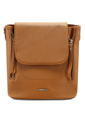 63b225ff243f Marie Claire brown 2 Way Backpack 956B6AC5B26032GS 1
