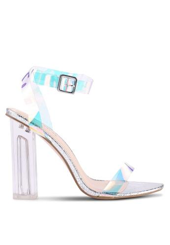 4ccd0be1e Buy Public Desire Alia Strappy Perspex High Heels Online on ZALORA Singapore