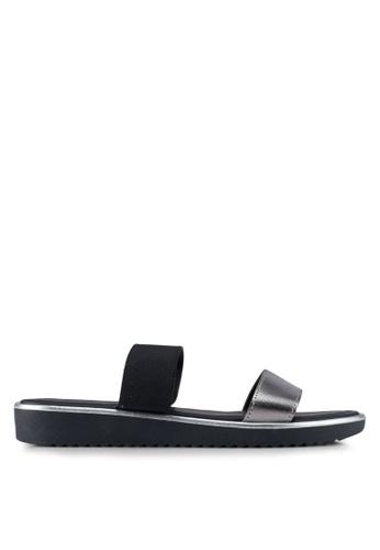 Dorothy Perkins black Comfort Black Funky Sandals F5714SH05D545FGS_1