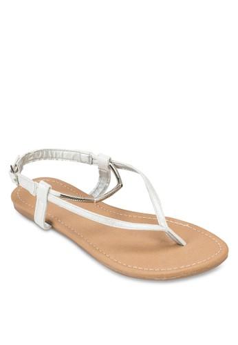 Cosmo 金飾夾腳涼鞋, esprit outlet台北女鞋, 鞋
