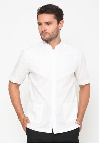 Ornith white Embroidery White Koko Shirt B3354AAAC34C08GS_1