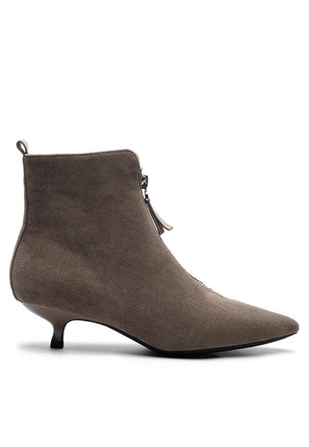 Twenty Eight Shoes Synthetic Suede Ankle Boots 1592-5 05A67SH07A4947GS_1