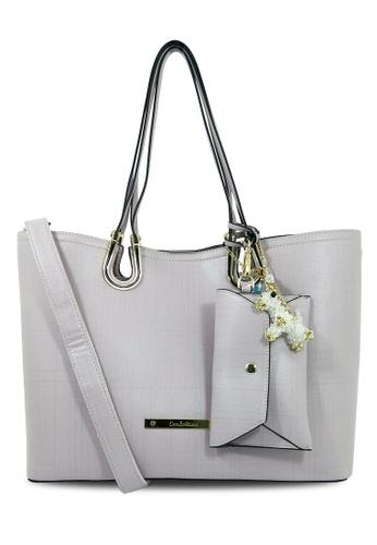Carlo Rino grey Carlo Rino 0303848-004-38 Shopper bag CA220AC17QJMMY_1