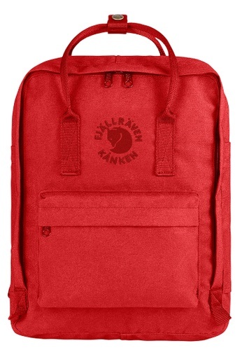 Fjallraven Kanken red Red Re Kanken  Backpack 60605AC576DB49GS_1