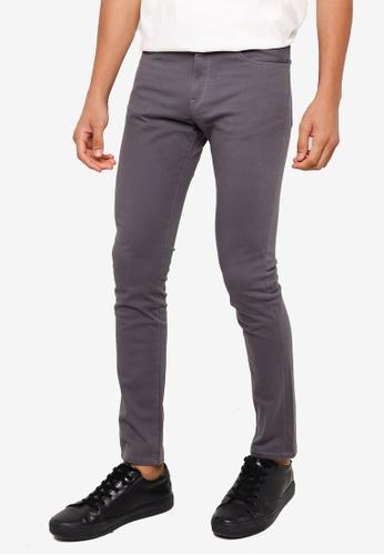 RAGEBLUE grey Casual Skinny Jeans 6FE6FAACCAB25EGS_1