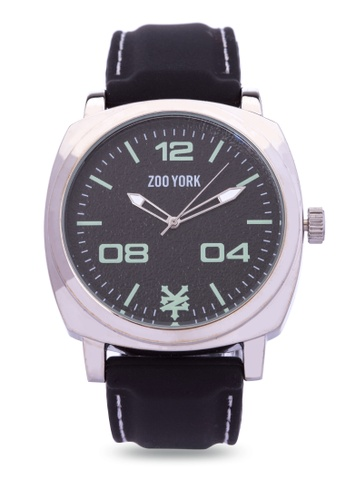 Zoo York black Analog Watch ZO541AC0IT1APH_1