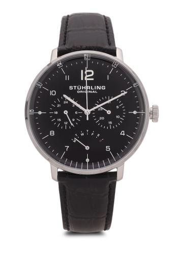 Stuhrling Original black Men's Quartz Watch ST251AC0S05KMY_1