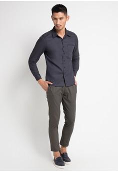 6a0e297a7d0 BRITANIA Long Sleeve Modern Print Shirt Rp 459.900. Ukuran M