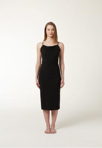 Annibody black PAIGE Dress - Black 27399AAF52A998GS_1