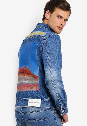 foto ufficiali 81fc2 74ec9 Modern Classic Trucker Jacket - Calvin Klein Jeans