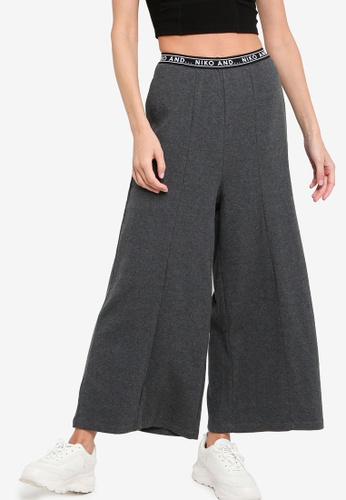 niko and ... grey Ladies Knit Pants BA1A7AA3A2BD81GS_1