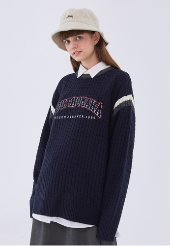 Twenty Eight Shoes Loose-Fitting Embroidered Knit Sweater HH0568 2D20DAA0683827GS_1