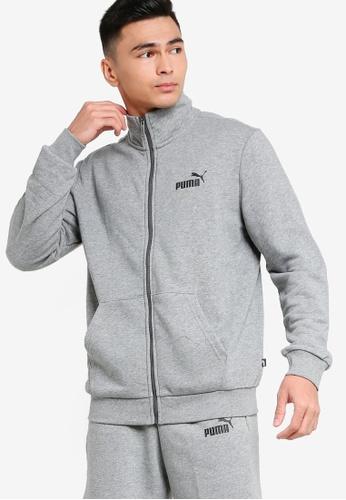 Puma grey Essentials Sweat Jacket 3A63FAAD3E379AGS_1