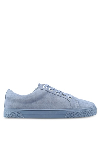 TOPSHOP 藍色 City Lace Up Trainers 9BFDDSH2A9BA16GS_1