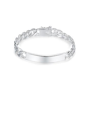 Glamorousky silver Fashion Geometric Bracelet FA6B7AC70C1366GS_1