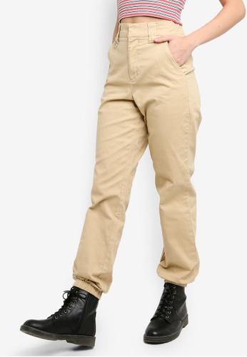 Factorie brown Utility Pants 38A4EAA1E14C00GS_1