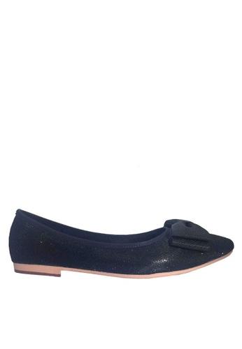 Twenty Eight Shoes 黑色 舒適立體蝴蝶宴會鞋 VL90282 7BC82SH08EF7F8GS_1