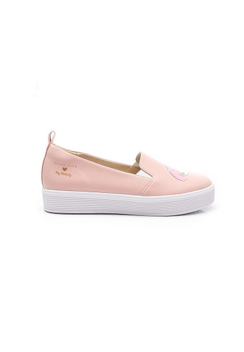 Elisa Litz pink My Melody Floral Sneakers (Pink) 076CDSH6FF6BF7GS_1