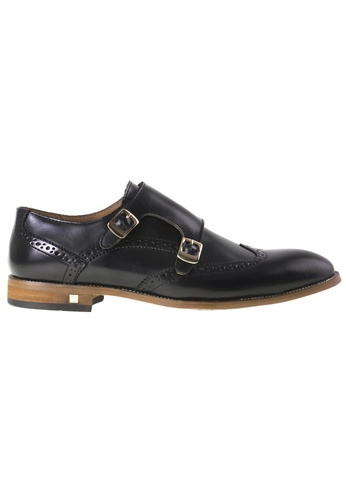 Tomaz black Tomaz F123 Wingstip Monkstrap(Black) TO717SH0RFSSMY_1