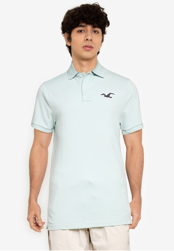 Hollister green Exploded Icon Polo Shirt 2FD4BAAD455A07GS_1