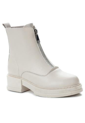 Twenty Eight Shoes Vintage Leather Zipper Boot CB9307 2A64BSH07E3CDCGS_1