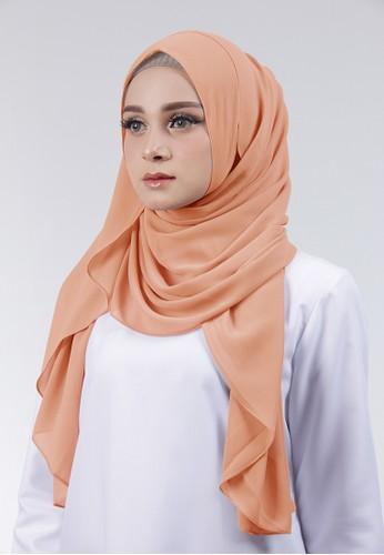 Cantik Kerudung orange Adela Instant CF880AA9744C08GS_1