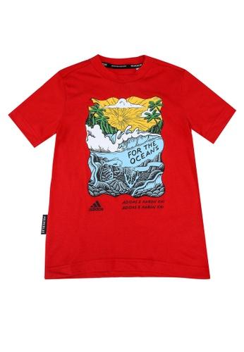 ADIDAS red aaron kai x graphic t-shirt E11B7KA3462947GS_1