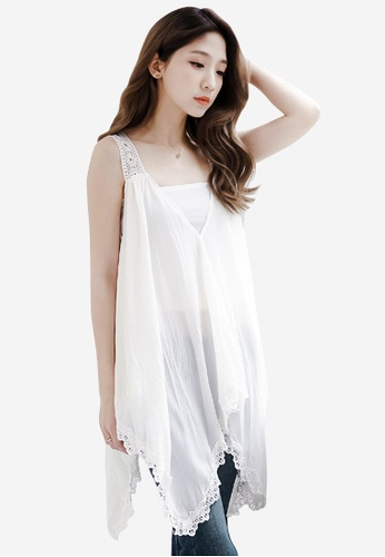 Sesura white Angelic Dreams Umbrella Top 05011AA3A27C8DGS_1