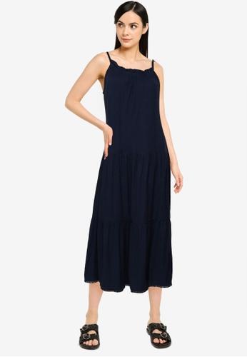 Superdry blue Jersey Midi Dress - Original & Vintage 19FDDAAFB2ACFCGS_1