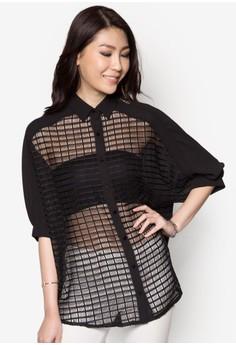 Grid Pattern Shirt