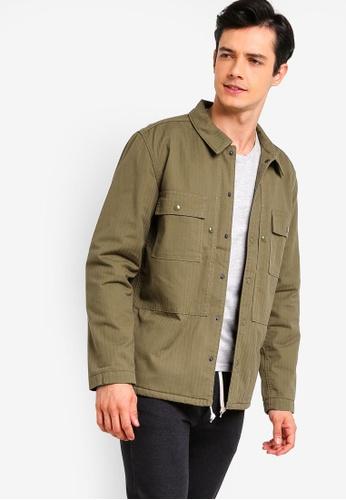 J.Crew 米褐色 經典襯衫外套 8EA50AA49C6DE3GS_1
