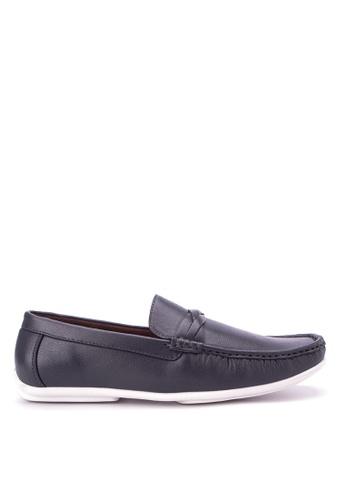 Huxley blue Ulysses Loafers HU539SH38QCFPH_1