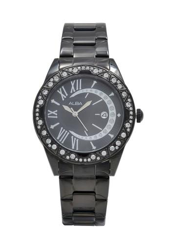 Alba black ALBA Jam Tangan Wanita - Black - Stainless Steel - AXHH27 B1086ACEA0367DGS_1