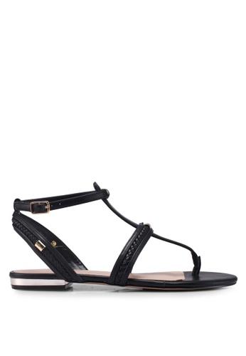 ALDO black Fiema Sandals BF8CFSH599D811GS_1