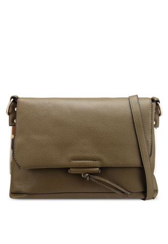 Dorothy Perkins green Khaki Metal Side Crossbody Bag 6679EAC0FC79E2GS 1 012d3543cd7f4