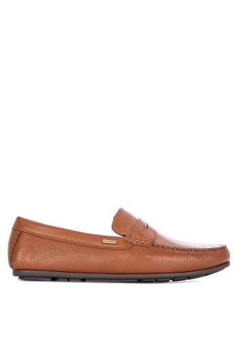 Tommy Hilfiger brown Classic Leather Penn Loafers 1DEF3SHF36FC11GS_1